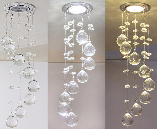 Plafoniere In Cristallo Miglior Prezzo : Acquista breve mini plafoniera di cristallo k