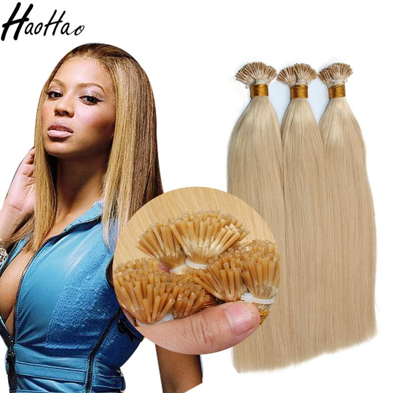 Blonde 613 Hair I Tip Hair Extensions Shipping Overnight Raw