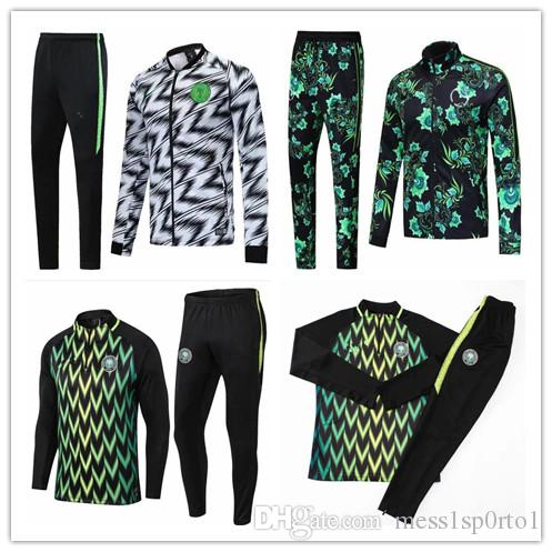 2019 2018 2019 World Cup Nigeria SOCCER JERSEY Training Suit 18 19 Nigeria  IWOBI Chandal FOOTBALL Long Sleeve Jacket Kits Tracksuit Sportswear From ... 3b2349d5d