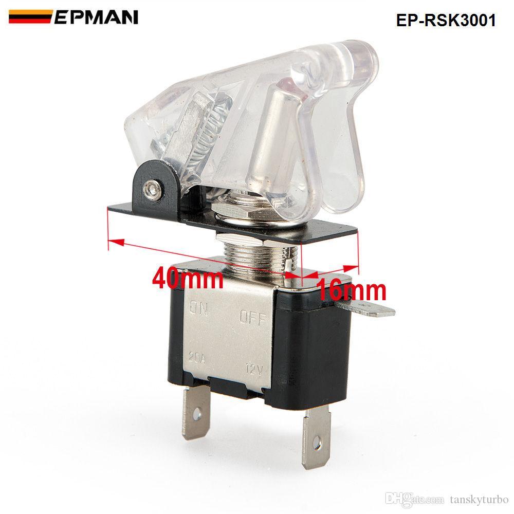 Tansky Racing Switch Kit Auto Elektronik / Switch Panels-Flip-Up Start / Zündung / Zubehör für Universal auf Lager TK-RSK3001