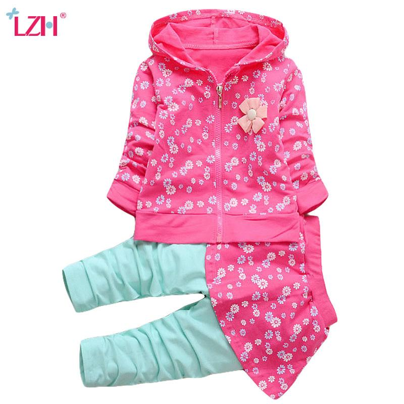 b18089f5ed1d 2019 LZH Newborn Clothes 2018 Autumn Winter Baby Girls Clothes Set ...