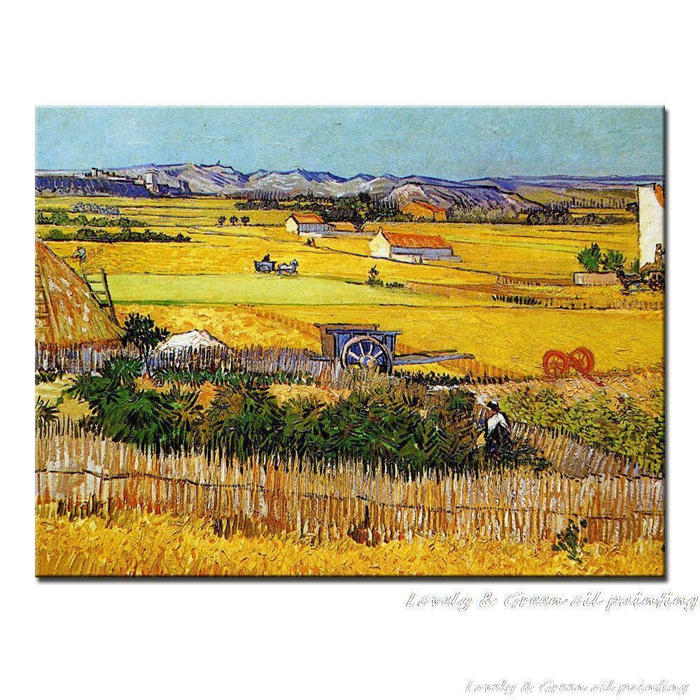Online Cheap 100% Hand Painted Vincent Van Gogh Reproduction Copy ...