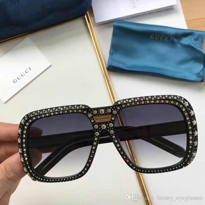 99f80b879ce New Fashion Women Sunglasses 0247 Retro Fashion Big Frame Simple Avant  Garde Design Style Top Quality Uv Protection Eyewear Oversized Sunglasses  Best ...