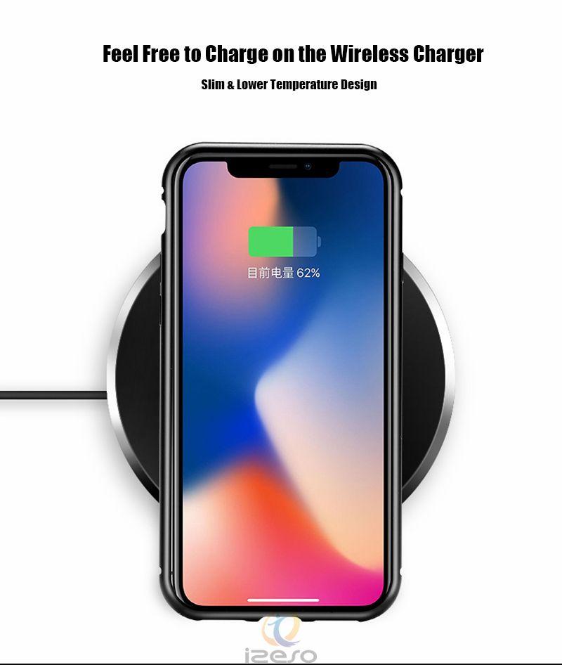 Магнитный адсорбционный металлический чехол для телефона для iPhone 11 Pro Xr Xs Max X Полный охват Рамка из алюминиевого сплава с закаленным стеклом Задняя крышка