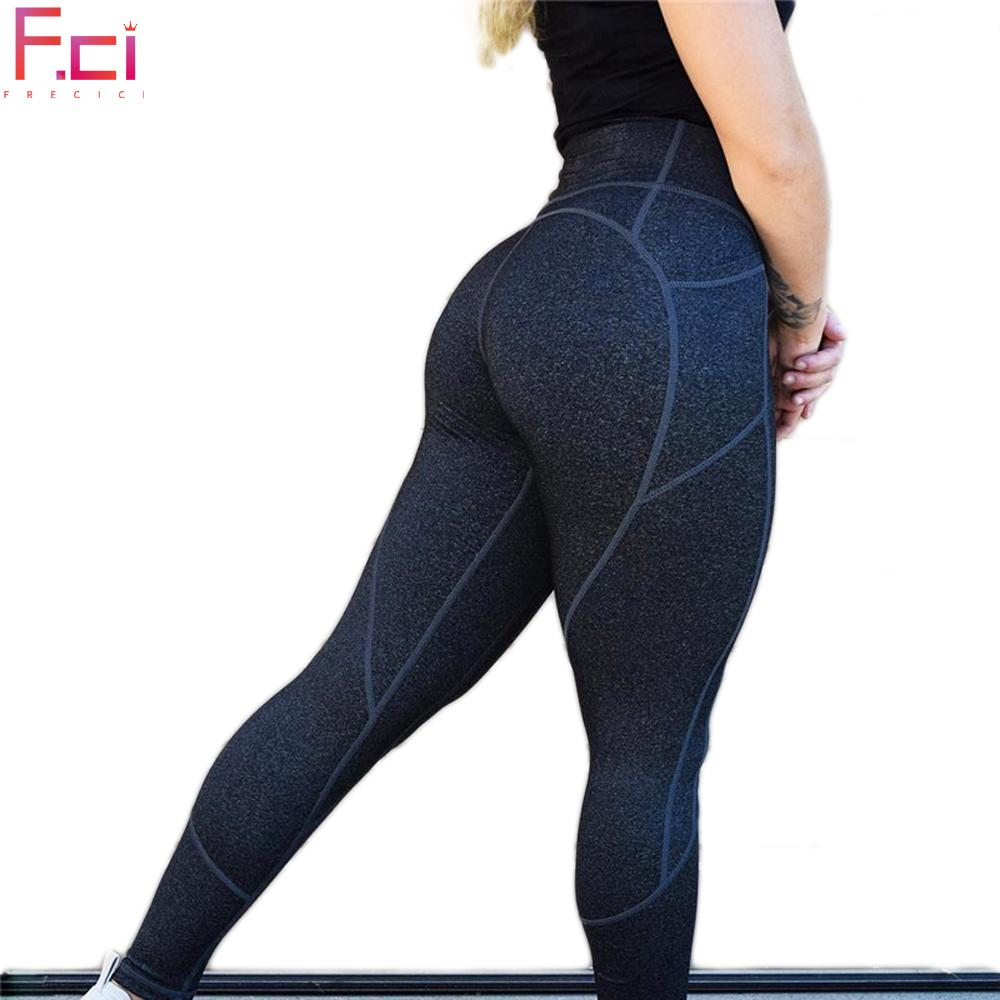 8ba4486f15969 2019 FRECICI Heart Butt Women Sexy Yoga Pants With Side Pocket Sports  Leggings High Waist Fitness Gym Flex Leggings Active Pants From Jaokui, ...