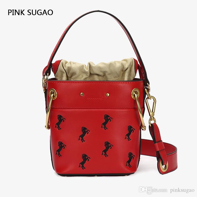2019 Pink Sugao Luxury Designer Handbags Purse Genuine Leather Fashion Designer  Bags Women Famous Brand Messenger Crossbody Bag From Pinksugao e208d477636d2