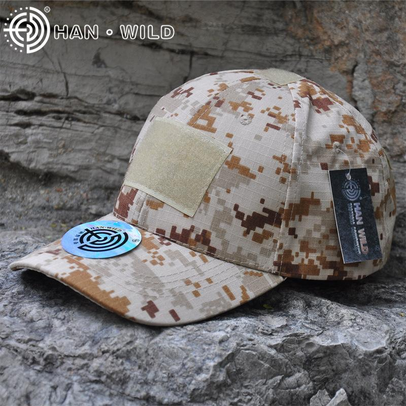 ce9634376d0e2 HAN WILD 11Style Snapback Camouflage Tactical Hat Patch Army Tactical  Baseball Cap Unisex ACU CP Desert Cobra Camo Hats For Men Hatland Brixton  Hats From ...