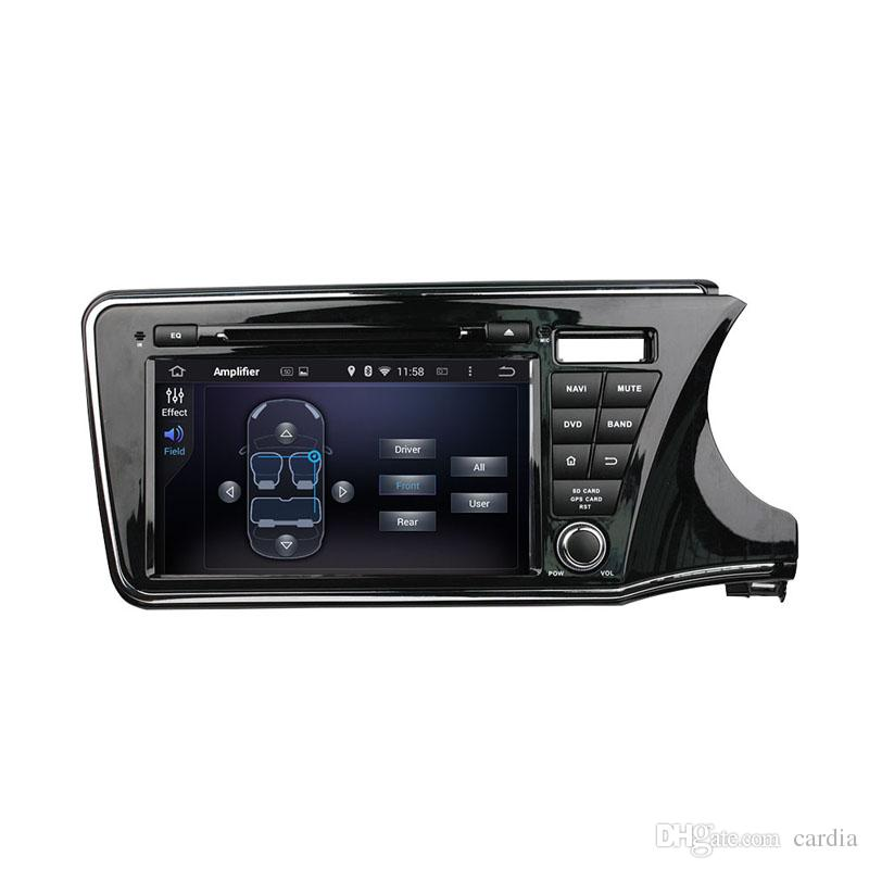 9inch Octa-core Andriod 8.0 Car DVD player for Honda CITY 2015 right driving with 4GB RAM,GPS,Steering Wheel Control,Bluetooth,Radio