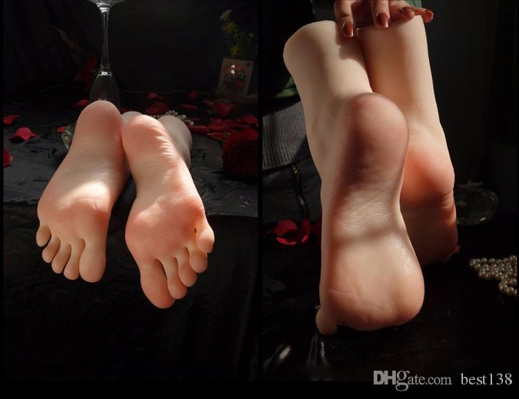 Newest Asian Girls Foot Clones Feet Worship Fetish Foot Fetish Jobs Toys Mannequin Real Skin