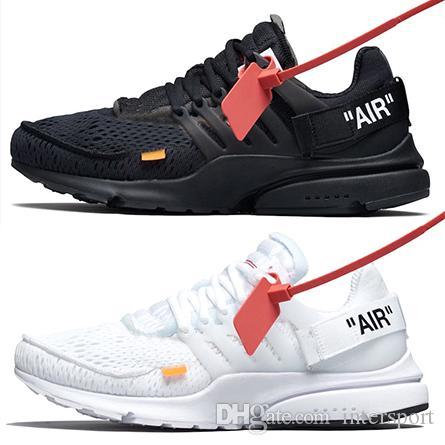 Acquista Più Economico Nuovo Arrivo Air Presto 2.0 Off Running Shoes Uomo  Nero Bianco Prestos Athletic Designer Scarpe Sport Sneakers AA3830 100 Eur  36 46 A ... eadbfc098e8