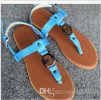 2018 Genuine Leather Brand New Women Thong Sandals Summer Women Beach Sandals Famous Flip Fllops 35-42 With the original box discount outlet store official for sale with mastercard online cheap sale under $60 BjNATJL9uI