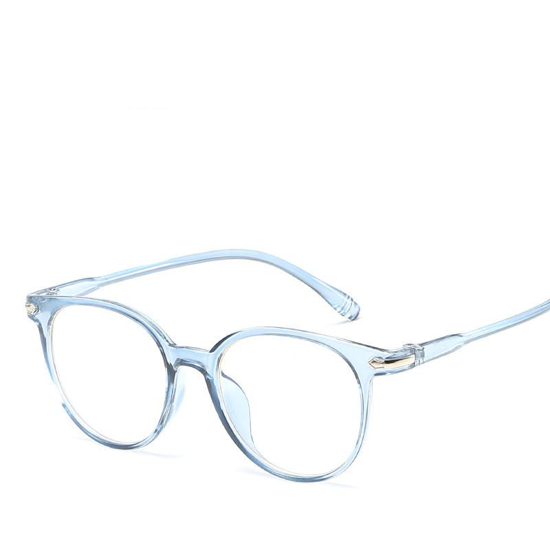 1dee03c2a9 2019 Computer Coating Goggle Women Glasses Frame Men Eyeglasses Frame  Vintage Round Clear Lens Glasses Optical Spectacle 2018 From Gunot