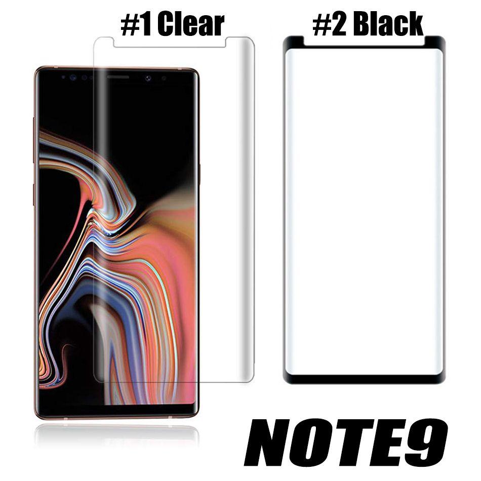 Case Dostu Temperli Cam Samsung Galaxy S20 S9 Not 20 Ultra 10 S8 Artı Mate 30 Pro 3D Kavisli Sürüm Ekran Koruyucu