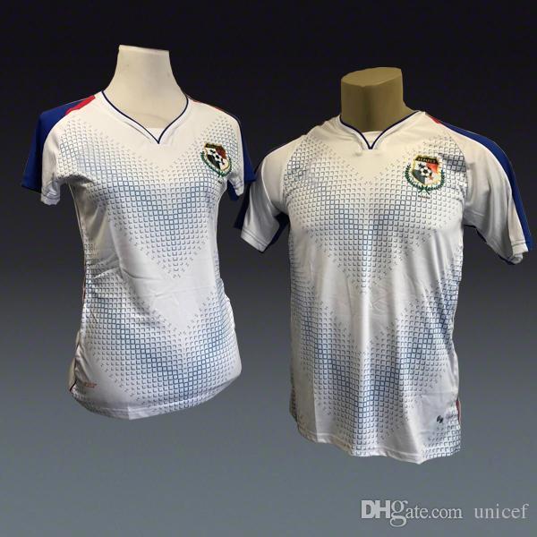 49657251728 Camiseta De Futbol Panama World Cup 2018 Away White Soccer Jerseys ...
