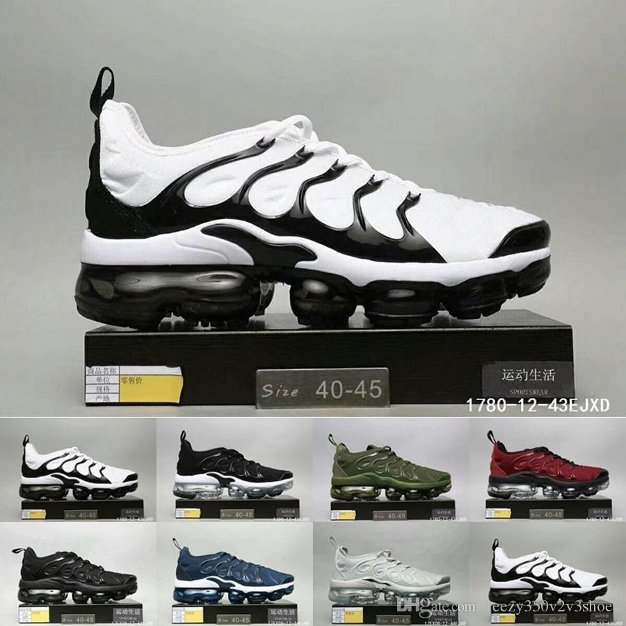 Hot Vapormax TN Plus Men Basketball Shoes Olive In Metallic White Silver Colorways Men Shoes For Running Male ShoeTriple Black TRIPLE WHITE shop offer sale online outlet for cheap brand new unisex cheap price geniue stockist sale online discount genuine jskZI