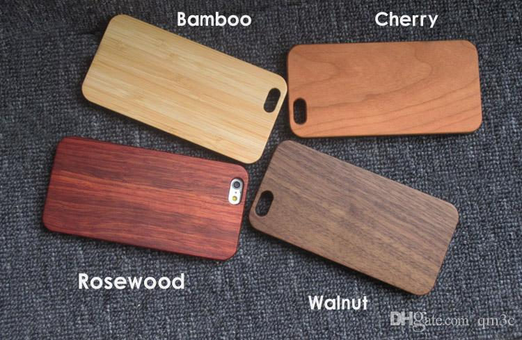 Vintage Super High-end Rose Wood Cell Phone Cover Case For iphone 10 X 7 8 PLUS 6 6S Maple Wooden TPU Bamboo Mobiles Cover For Samsung S8 S9