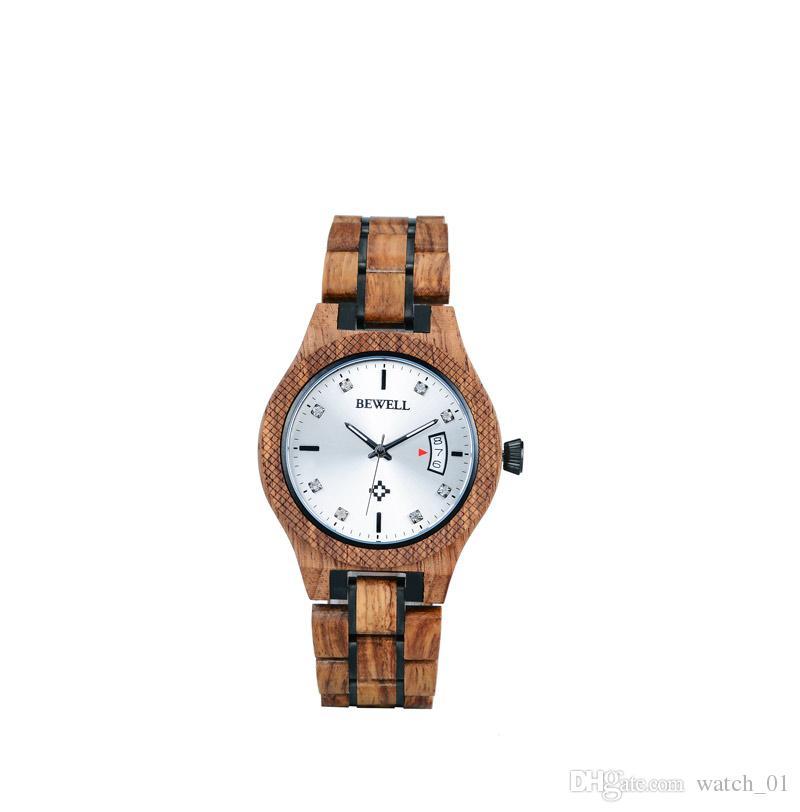 8f2afb85dd3 Compre Mulher Relógios Mecânicos De Madeira Relógio De Pulso Mecânico  Feminino 3 Mãos Relógio De Madeira À Prova D  água De Watch 01