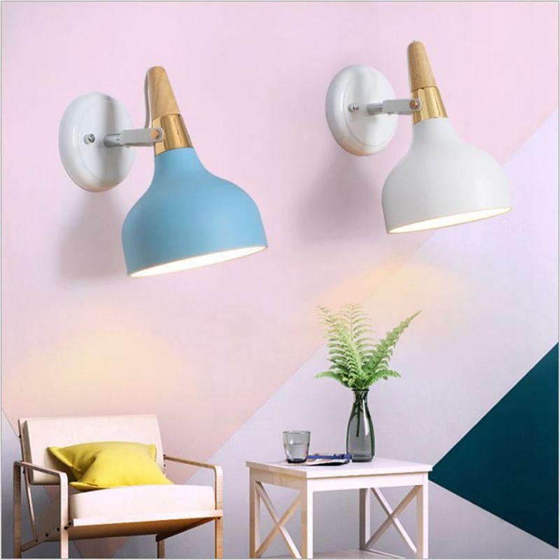 Acheter Lampes Murales D Interieur Nordiques E27 Applique Murale En