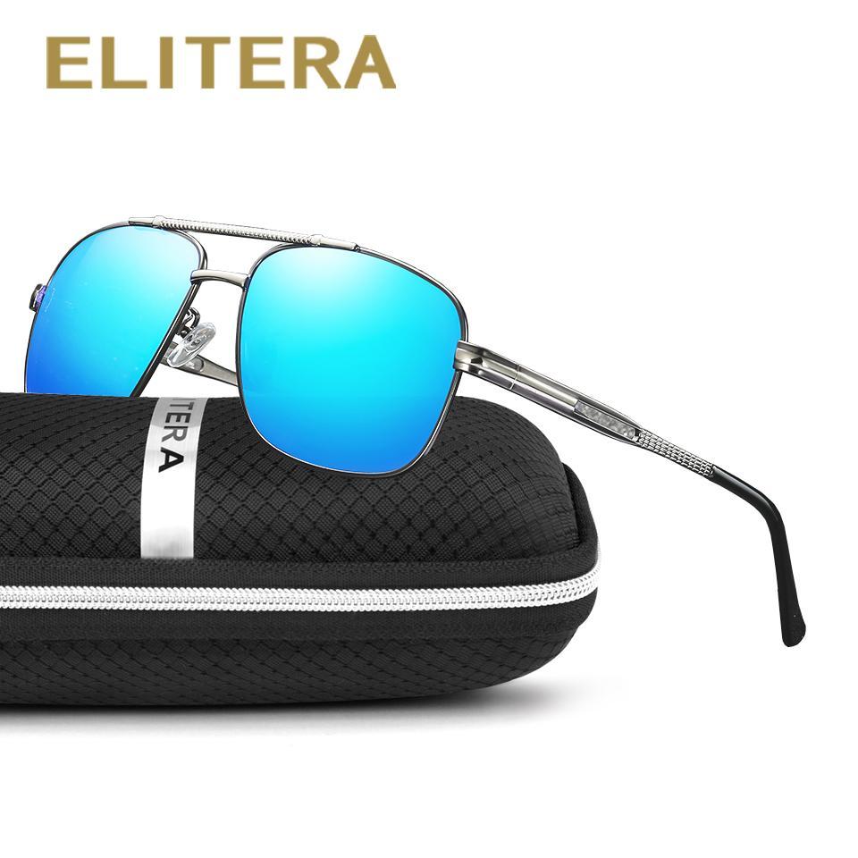 4b9130bdca ELITERA Brand Design New Men Sunglasses Polarized Coating Mirror Sun Glasses  Oculos Male Eyewear Accessories For Men Sunglasses For Men Prescription  Glasses ...