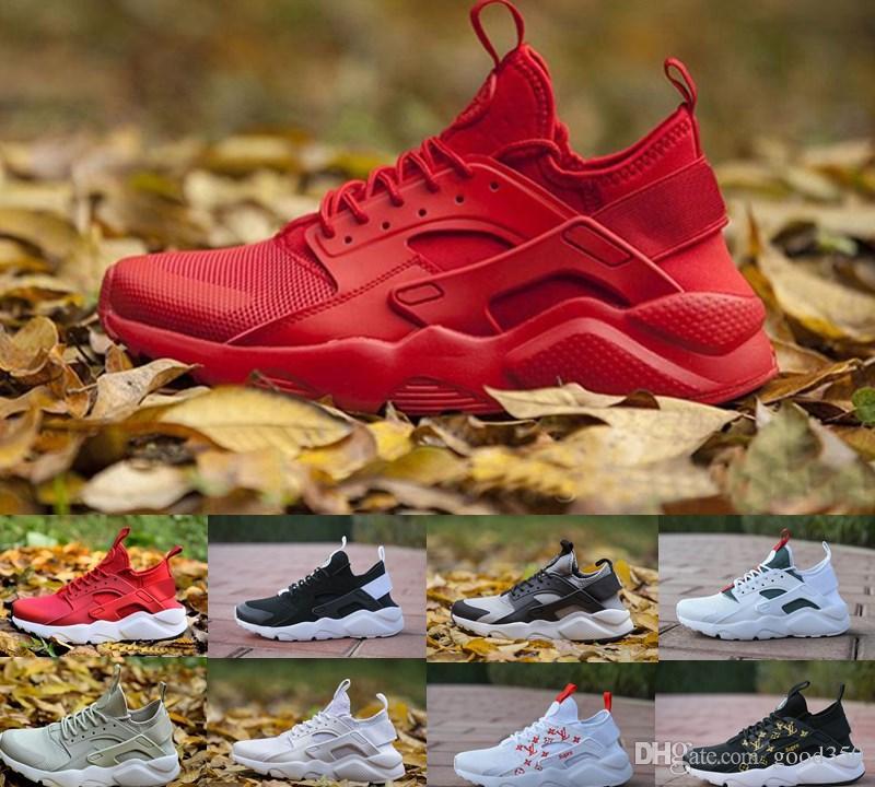 0 Us12 Triple Nike De 4 Baskets Us5 Ultra 2018 4 À Course Formateurs Et Femmes Huraches Summer Air Huarache Chaussures Hommes Huaraches Iv L5ARj43