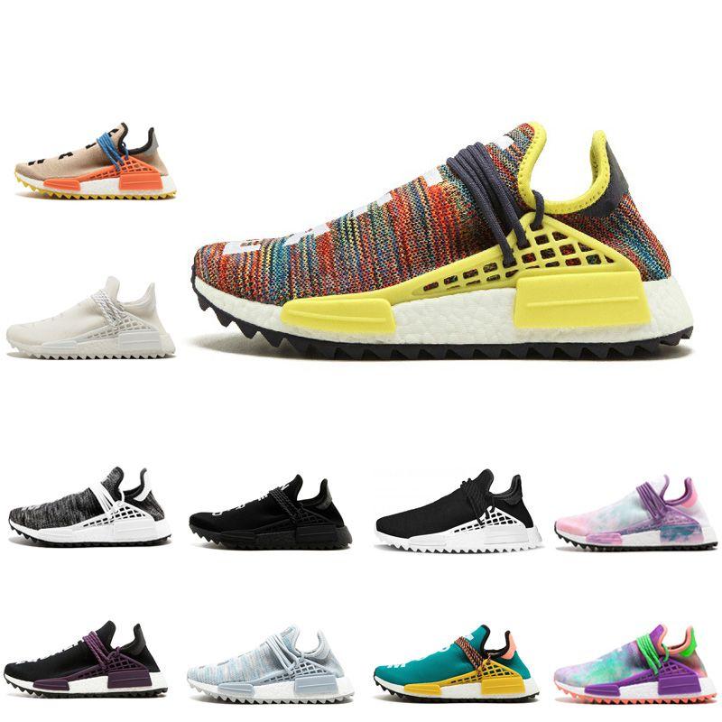 Human RACE HU NMD Trail Mens Designer Sports Running Shoes for Men ... b29d02e3f6