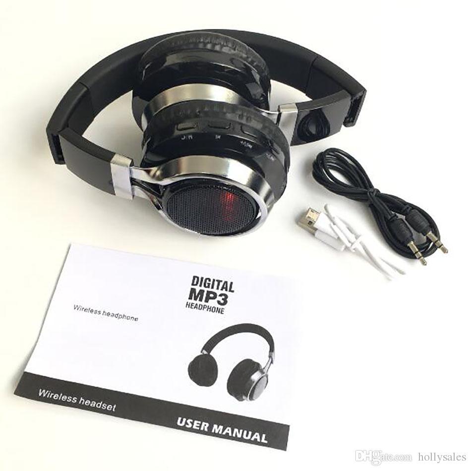 Auriculares inalámbricos bluetooth estéreo K8 deporte led bluetooth 4.0 manos libres de alta fidelidad reproductor de música auriculares para juegos jugador con micrófono