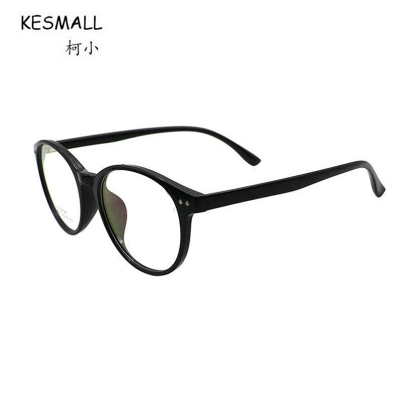 Compre Kesmall Más Nuevo Diseñador De Marca Gaming Glasses Frame Mujeres  Moda Tr90 Miopía Anteojos Marcos Hombres Lente Clara Eyewear Hot Xn35 A   38.11 Del ... 5059f13eeda8
