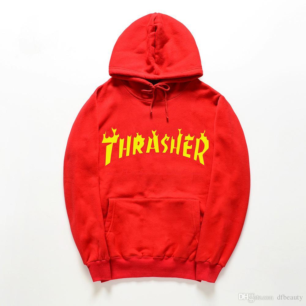Felpe con cappuccio da uomo di alta qualità UNISEX Fire lettera Pullover da uomo di sport giovanile pullover felpe in pile da uomo e da donna