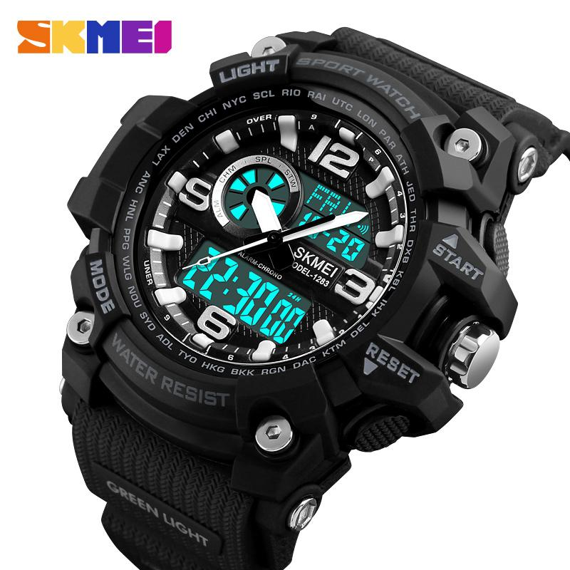 2018 Brand SKMEI Men Watches Sports Waterproof Multi-function Electronic LED Digital Wrist Watches for Men Wristwatch Male Clock