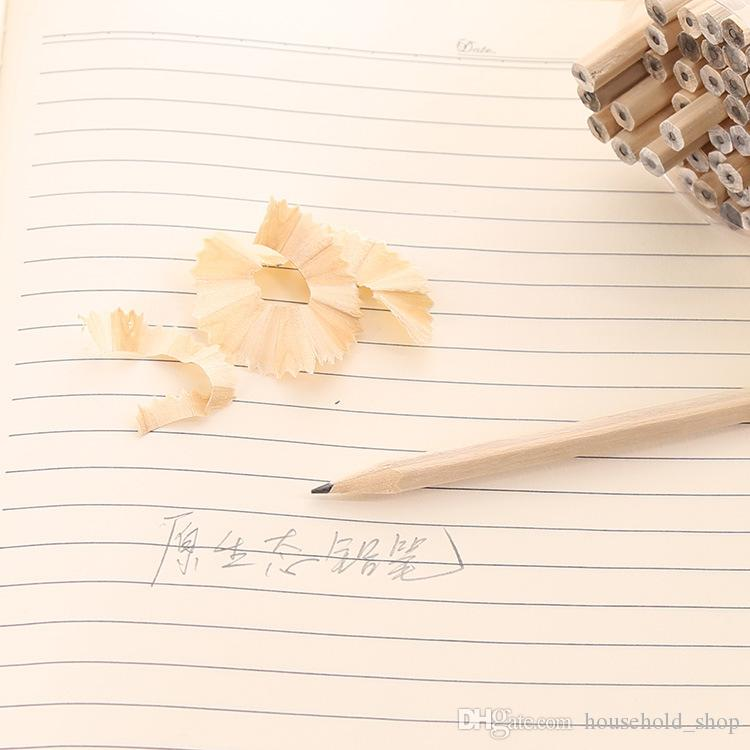 Натуральное дерево НВ карандаш детский сад студент нетоксичные ручка дети карандаши рисунок эскиз офис ручка карандаш 17.9x0.7cm Бесплатная доставка
