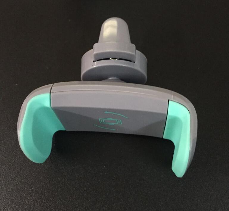 Car Mount Phone Holder Air Vent 360 Degree Gire el montaje del teléfono móvil Grip Conducción más segura para iP X 8 6 pulgadas Universal Phone 2018