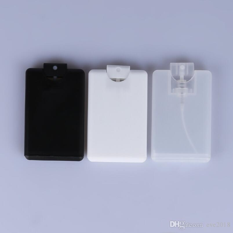 new 20ml disposable plastic credit card shape flat spray perfume pocket bottle for women cosmetic lx2436 perfume bottles collectibles perfume bottles glass - Plastic Credit Card