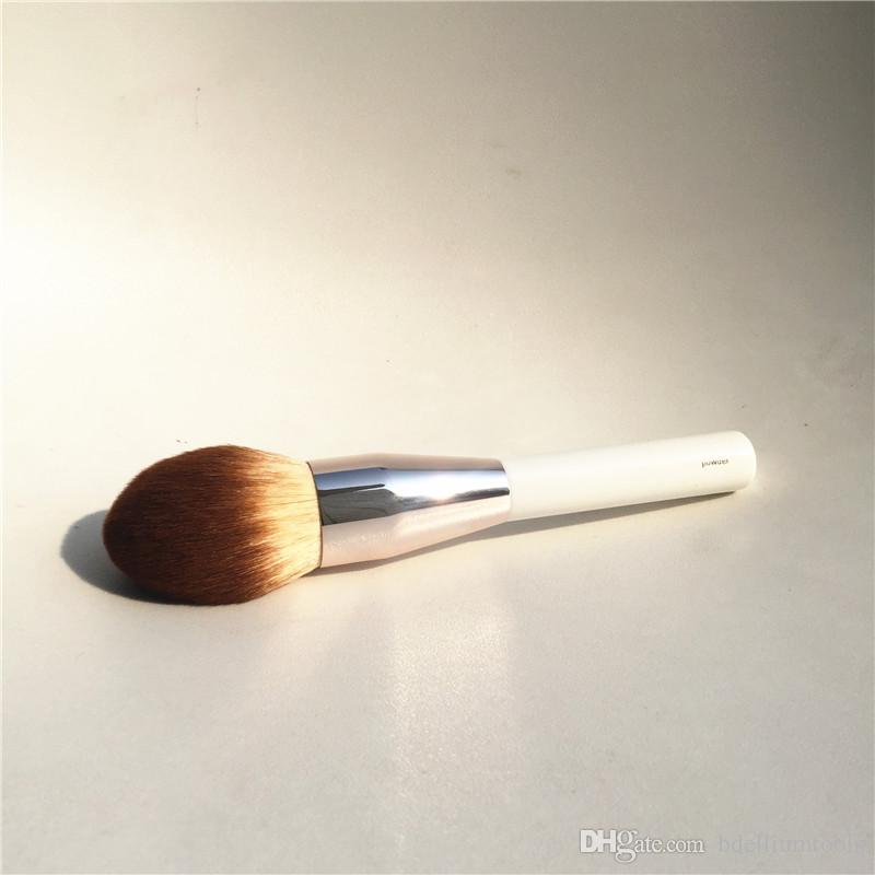 LA MER POWDER FOUNDATION BRUSH - الاصطناعية لينة الشعر كبير الانتهاء من مسحوق لا تشوبه شائبة - الجمال ماكياج فرش خلاط