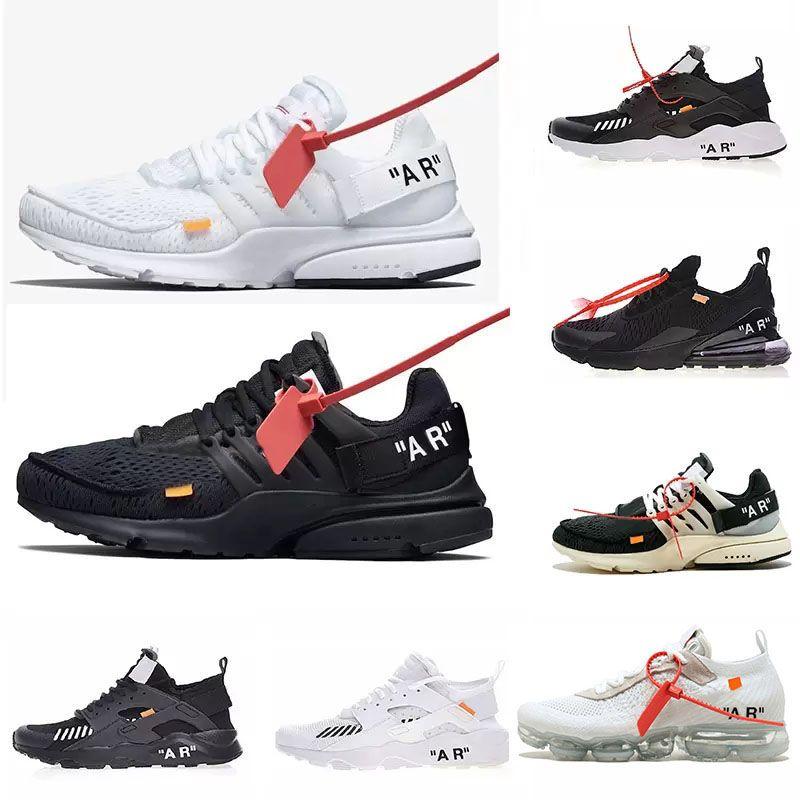 24649467 270 Huarache Sports Designer Brand Trainer Sneakers ACE Air Con 3 Cordones  De Color De Presto Hombre Mujer Zapatillas Deportivas Negro Blanco 2019 Por  ...