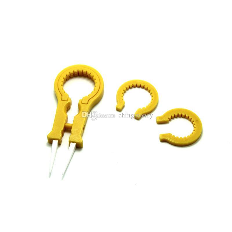 Mais novo Vaper Twizer V8 ecig Acessórios Vapor Pinça DIY Ferramenta Pinças De Cerâmica Lidar Com Vapor Tweezers Vape Twizer para RDA RBA RTA RDTA eCigs