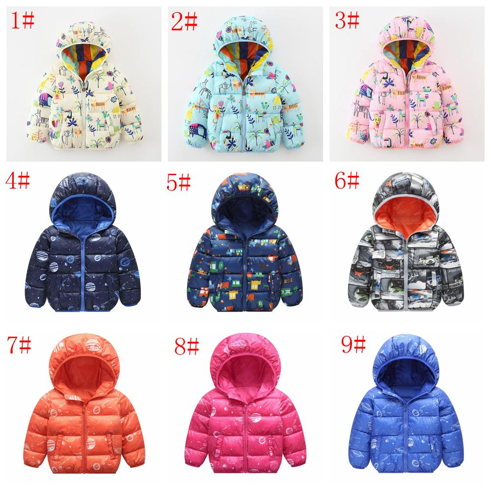 8a471a77ec5d 9styles INS Winter Warm Hooded Coat Children s Outerwear Boy And ...