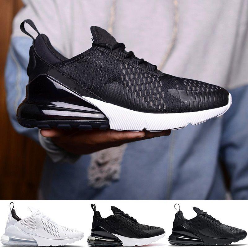100% authentic 6dbe5 5f95a Nike Air Max 270 Airmax Tamaño Grande 36 49 270 Zapatos Para Correr Hombres  Mujeres 270s Triple Negro Blanco Oreo Core Designer Trainer Sport Sneaker  Venta ...