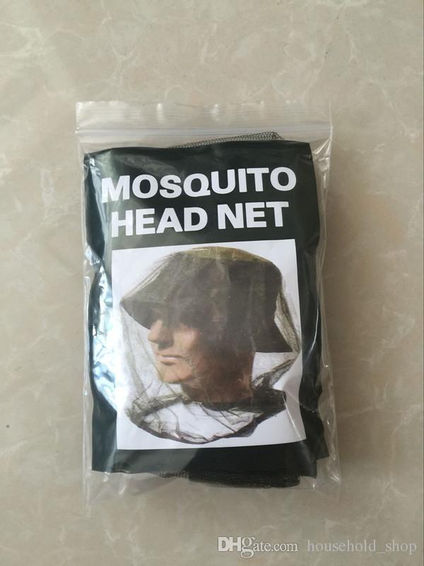 2018 nouvelle mode couvre-tête anti-moustique polyester masque visage protection couvercle pour le travail de jardin