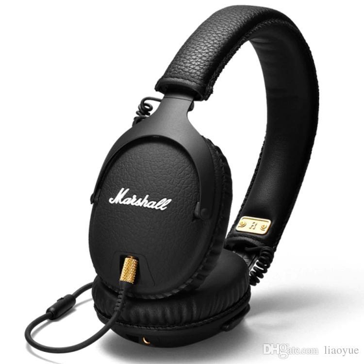 Auricolari Correre Marshall Monitor Bluetooth Wireless Cuffie Audio Casco  On Ear Cuffie Wireless Nero DHL SPEDIZIONE GRATUITA TOP QUALITY Mini  Auricolare ... cf52a54a71a7