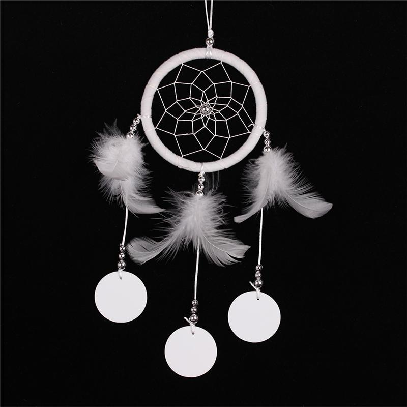 Wedding Decor Handmade Indian Style Dream Catcher Net With Feather