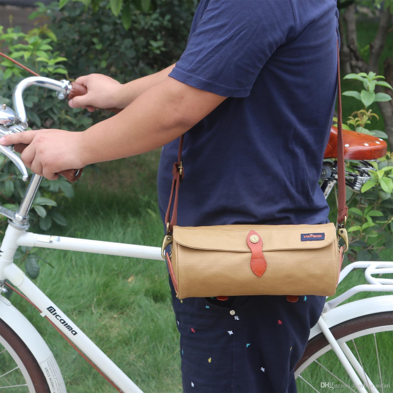 Bicycle Bag Bike Cycling Frame Front Tube Storage Bags Pocket Handlebar Sack