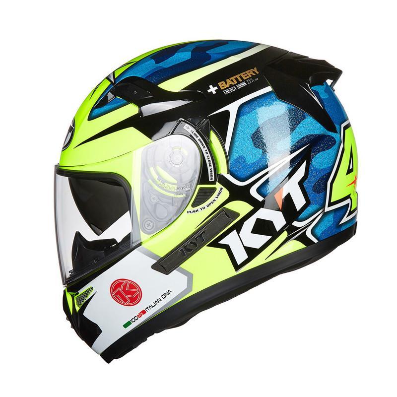 Kyt Full Face Motorcycle Helmet Men Motorbike Motogp Road Racing Helmets Casque Dual Lens Visors Moto Casco For Rider Motor Price From