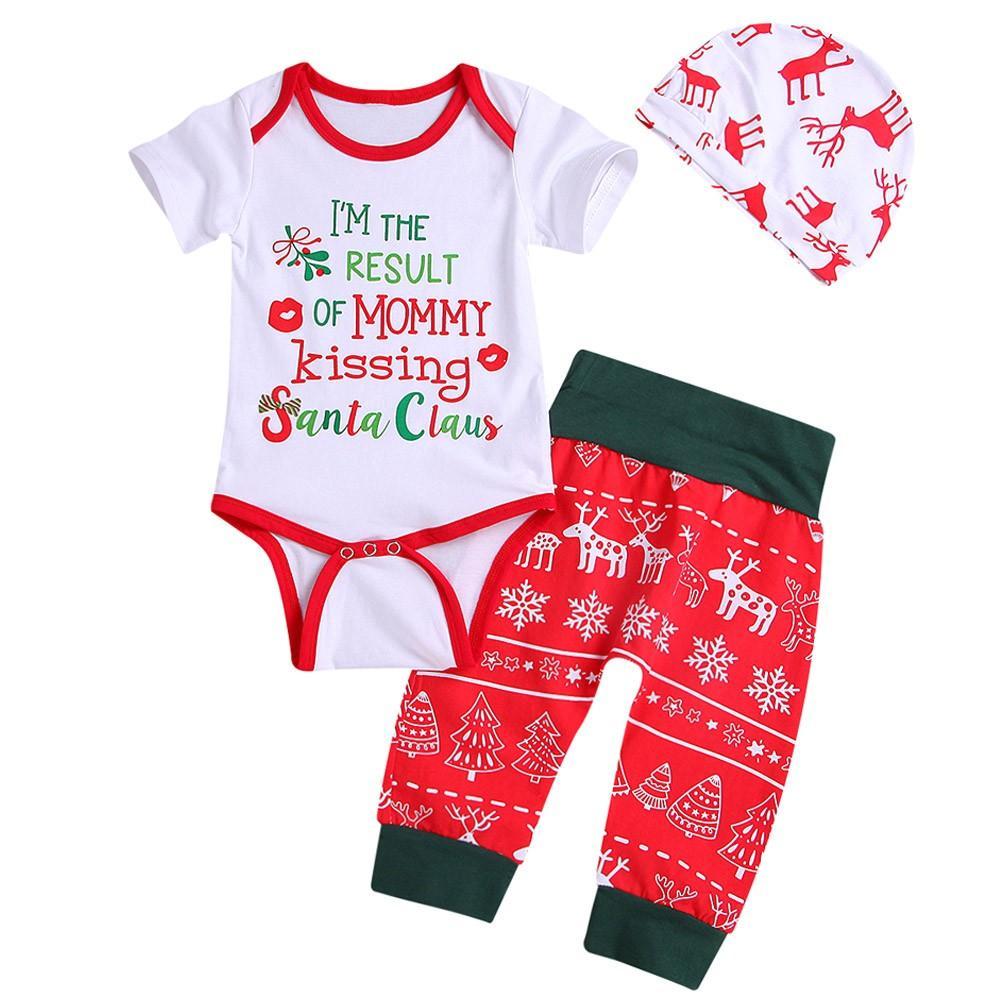 3846088576b1 TELOTUNY Children s Sets Deer Letter Print Romper Children Clothing Set Baby  Girl Clothes Kids Clothes Kids Nov2 Clothing Sets Cheap Clothing Sets  TELOTUNY ...