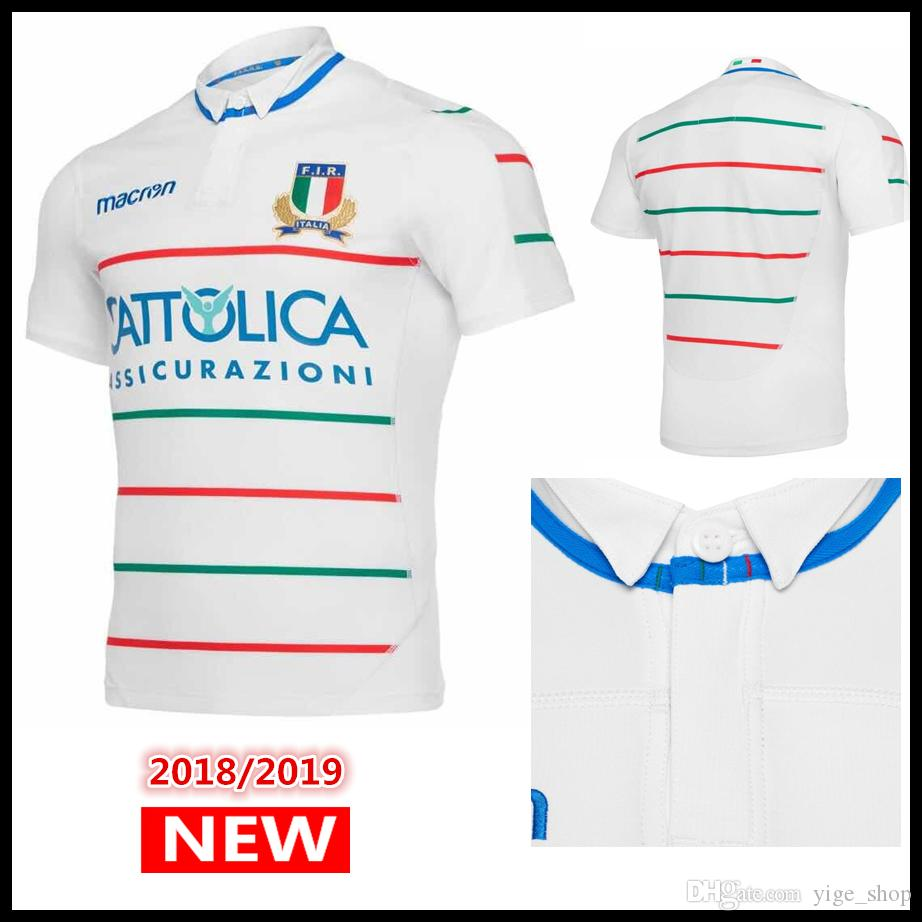 save off cdeb5 d44a5 Hot sales Best Quality 2019 new ITALIA Rugby Jerseys FIR shirt 18 19 ITALIA  national team Italy League jersey S-3XL