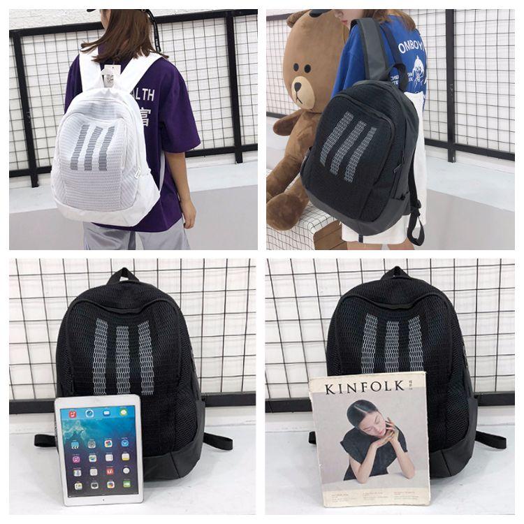 220d3228703c 2019 Adi Shoulder Bag Unisex Backpack School Bag Casual Backpacks Adult  Students  Travel Bags Waterproof Knapsack Large Capacity From  Fashion seller