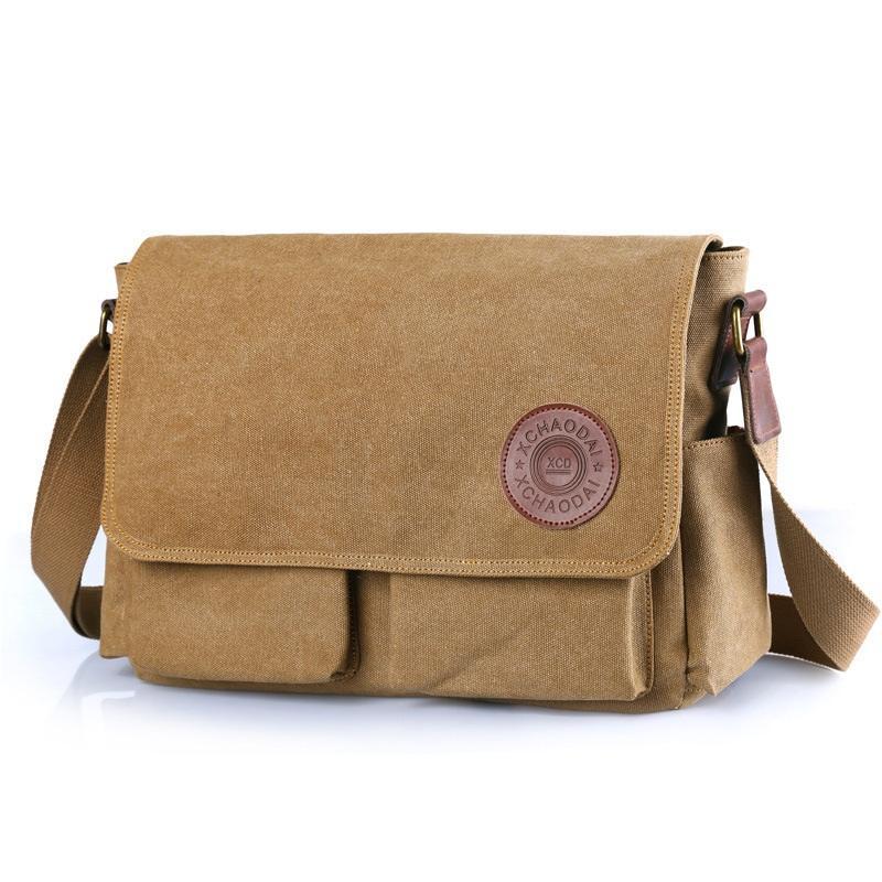 6e31075b47da High Quality Canvas Men Bags Large Capacity Fashion Travel Messenger Bags  Casual Business Men S Shoulder Crossbody Bag Style Fit Purses Wholesale  Fiorelli ...