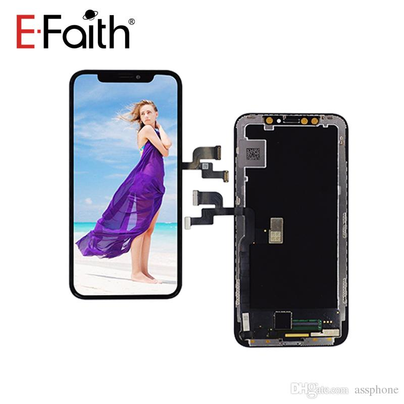 sneakers for cheap e5c67 9f228 New Arrival OEM Amoled LCD For iPhone X/10 Official Quality Perfect Color  Face Recognition Free DHL Shipping 1 year Warrant