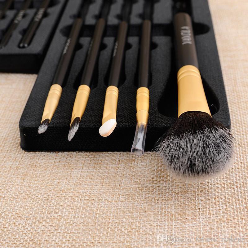Make-up Pinsel-Sets Pinceaux De Maquillage Make up-Pinsel Schönheit Lidschatten Lippen Blusher Augenbrauenpinsel kosmetische Werkzeuge Pinsel-Set