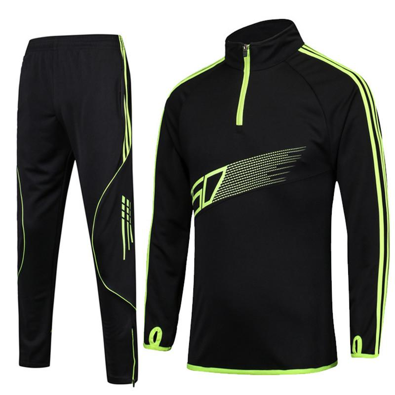 5db5d0df80 Mens Tracksuit Tracksuit Designer Tracksuit Men Sport Soccer Running Active  Pullover Long Sleeve Polyester Stand Collar Size 2XS-4XL