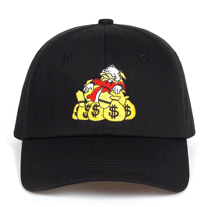 2018 New Money Bags Dad Hat Fashion Men Women Golf Cap Baseball Cap  Adjustable Hip Hop Snapback Hats Ball Cap Wholesale Hats From Jianyue16 f9796a8311a1